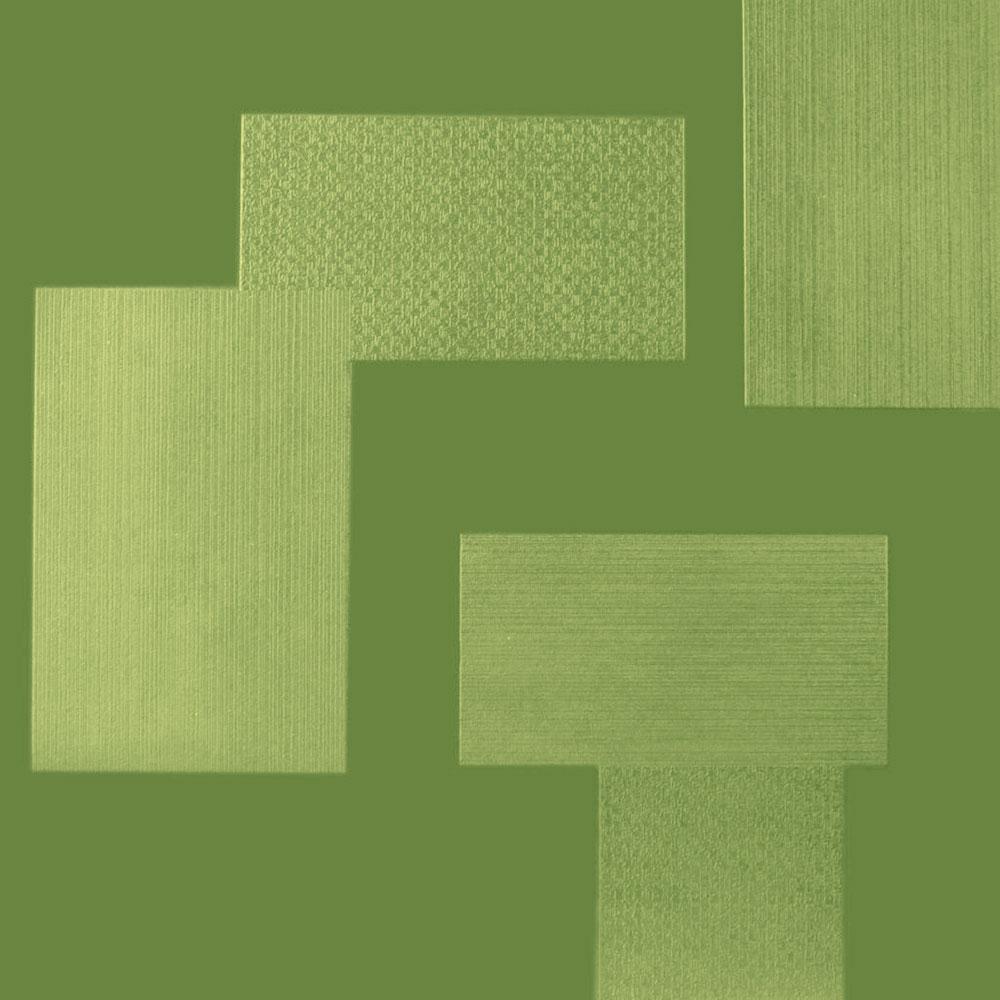 Roppe Dimensions Tile - Random Design Gingko Rubber Flooring