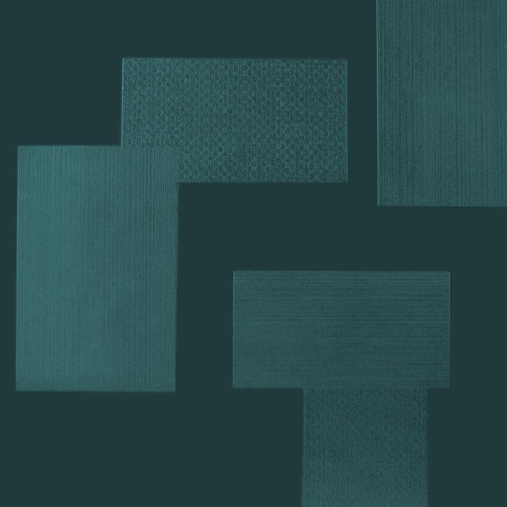 Roppe Dimensions Tile - Random Design Pine Rubber Flooring