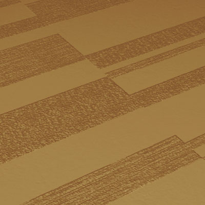 Roppe Dimensions Tile - Stripe Design Brass Rubber Flooring