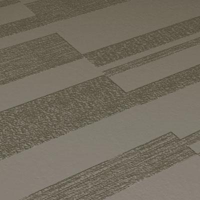 Roppe Dimensions Tile - Stripe Design Lunar Dust Rubber Flooring