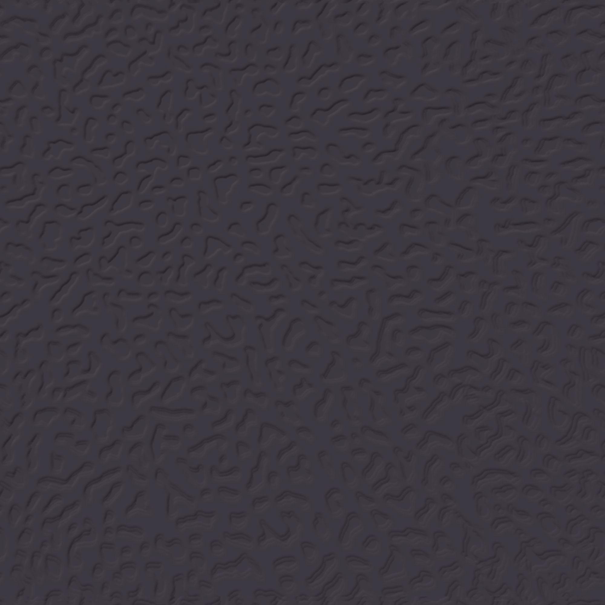 Roppe Rubber Tile 900 - Hammered Design (995) Black Rubber Flooring