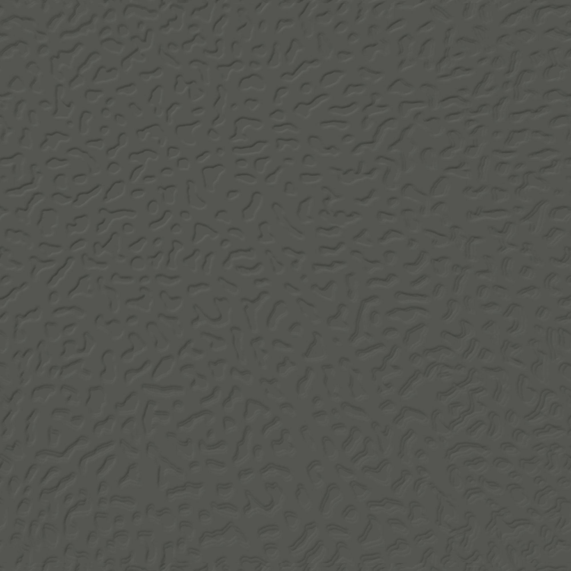 Roppe Rubber Tile 900 - Hammered Design (995) Black Brown Rubber Flooring