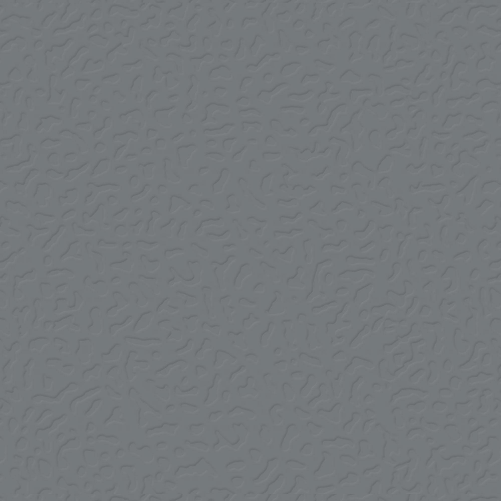 Roppe Rubber Tile 900 - Hammered Design (995) Dark Gray Rubber Flooring