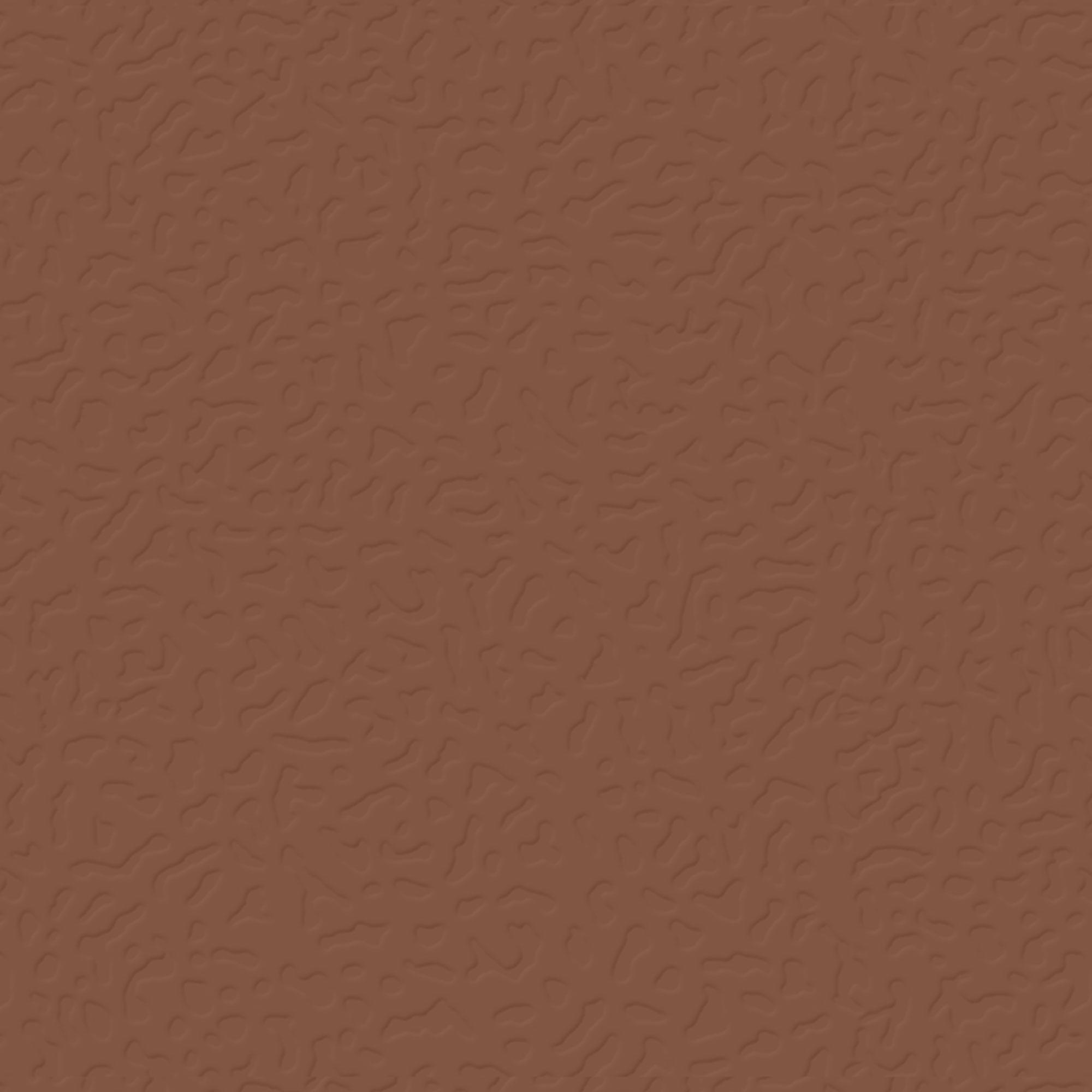 Roppe Rubber Tile 900 - Hammered Design (995) Nutmeg Rubber Flooring