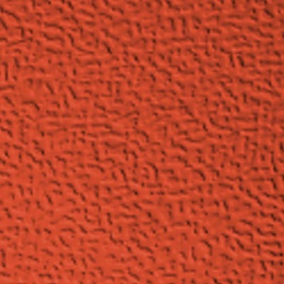 Roppe Performance Compound - Hammered Design Tangerine Rubber Flooring