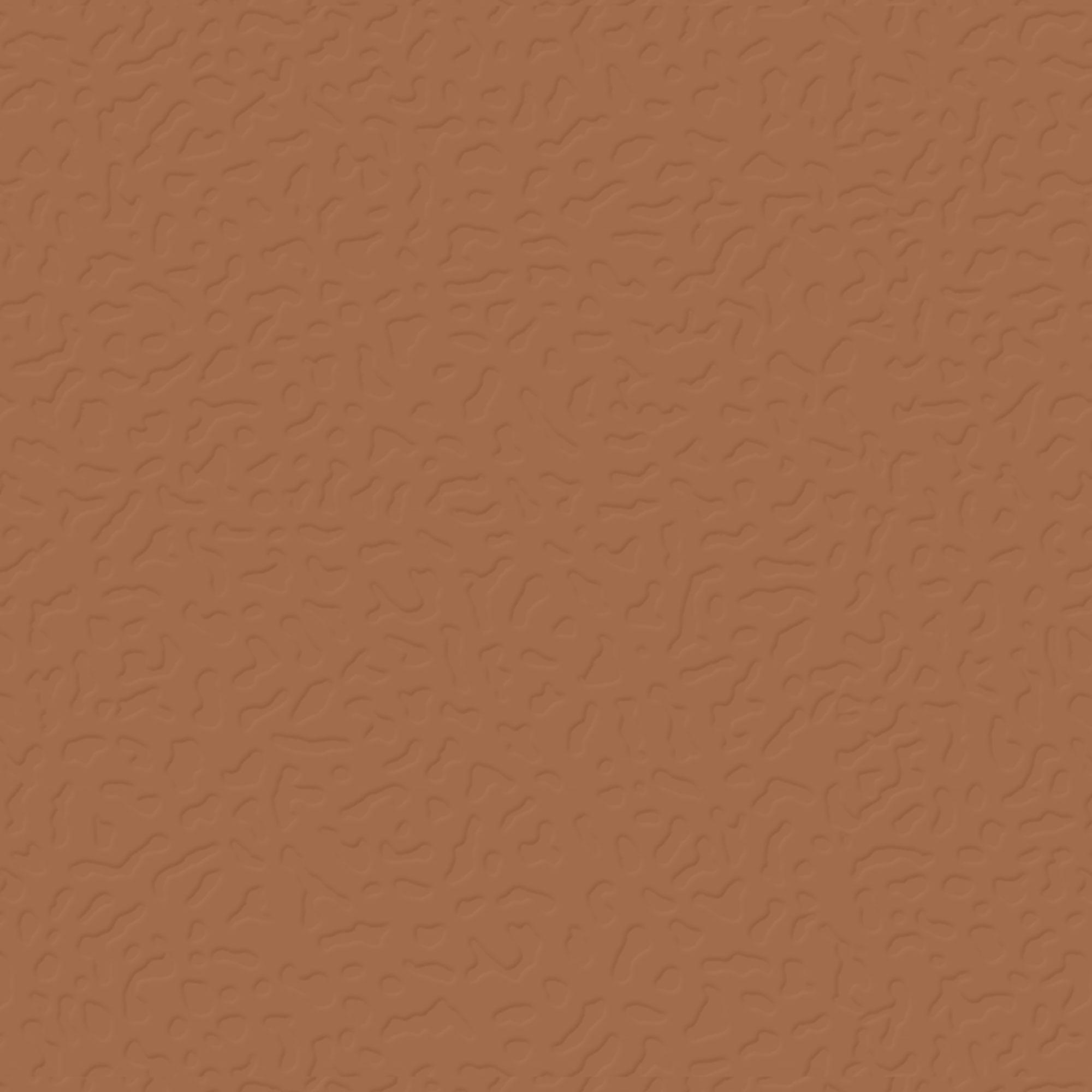 Roppe Rubber Tile 900 - Hammered Design (995) Terracotta Rubber Flooring