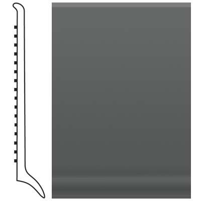 Roppe Pinnacle Rubber Long Toe Base 4 Black/Brown Rubber Flooring