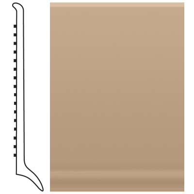Roppe Pinnacle Rubber Long Toe Base 4 Buckskin Rubber Flooring