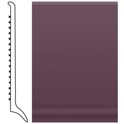 Roppe Pinnacle Rubber Long Toe Base 4 Burgundy Rubber Flooring