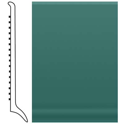 Roppe Pinnacle Rubber Long Toe Base 4 Forest Green Rubber Flooring