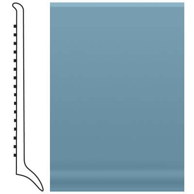 Roppe Pinnacle Rubber Long Toe Base 4 Salem Blue Rubber Flooring