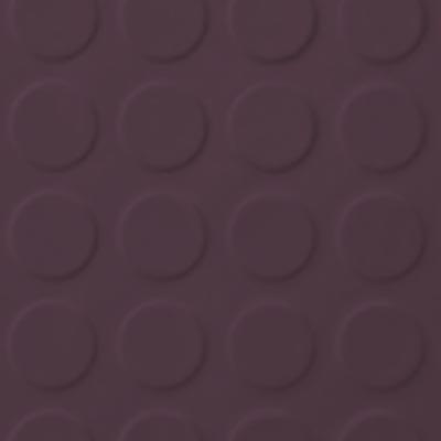 Roppe Rubber Tile 900 - Low Profile Raised Circular Design (992) Burgundy Rubber Flooring