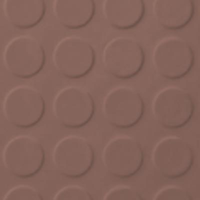 Roppe Rubber Tile 900 - Low Profile Raised Circular Design (992) Goldenhoney Rubber Flooring