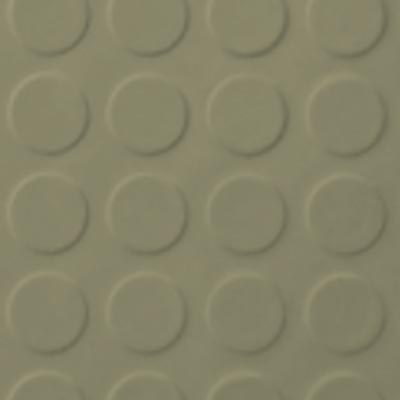 Roppe Rubber Tile 900 - Low Profile Raised Circular Design (992) Moss Rubber Flooring