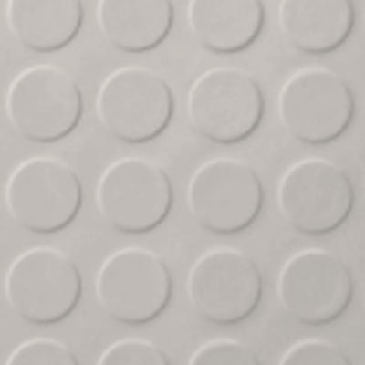 Roppe Rubber Tile 900 - Low Profile Raised Circular Design (992) Natural Rubber Flooring