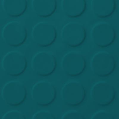 Roppe Rubber Tile 900 - Low Profile Raised Circular Design (992) Peacock Rubber Flooring