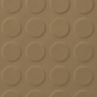 Roppe Rubber Tile 900 - Low Profile Raised Circular Design (992) Sahara Rubber Flooring