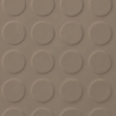Roppe Rubber Tile 900 - Low Profile Raised Circular Design (992) Sandstone Rubber Flooring
