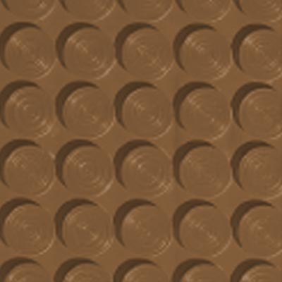 Roppe Rubber Tile 900 - Lug Back Vantage Design (LB996) Bronze Rubber Flooring