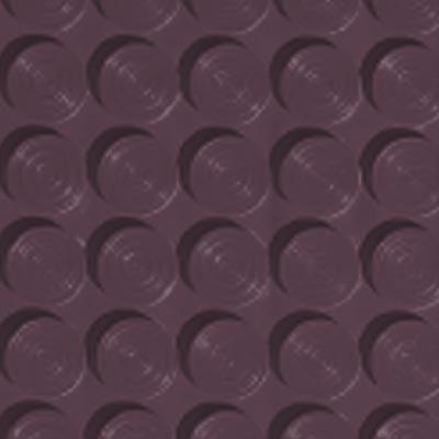 Roppe Rubber Tile 900 - Lug Back Vantage Design (LB996) Burgundy Rubber Flooring