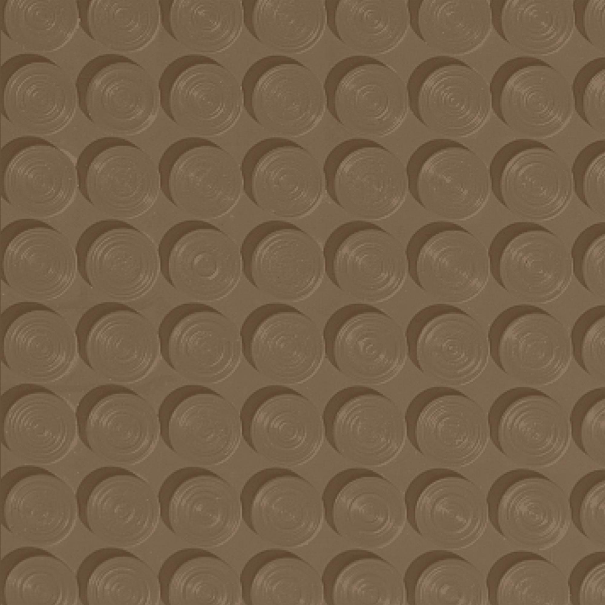 Roppe Rubber Tile 900 - Lug Back Vantage Design (LB996) Chameleon Rubber Flooring