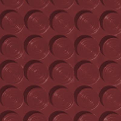 Roppe Rubber Tile 900 - Lug Back Vantage Design (LB996) Cinnabar Rubber Flooring