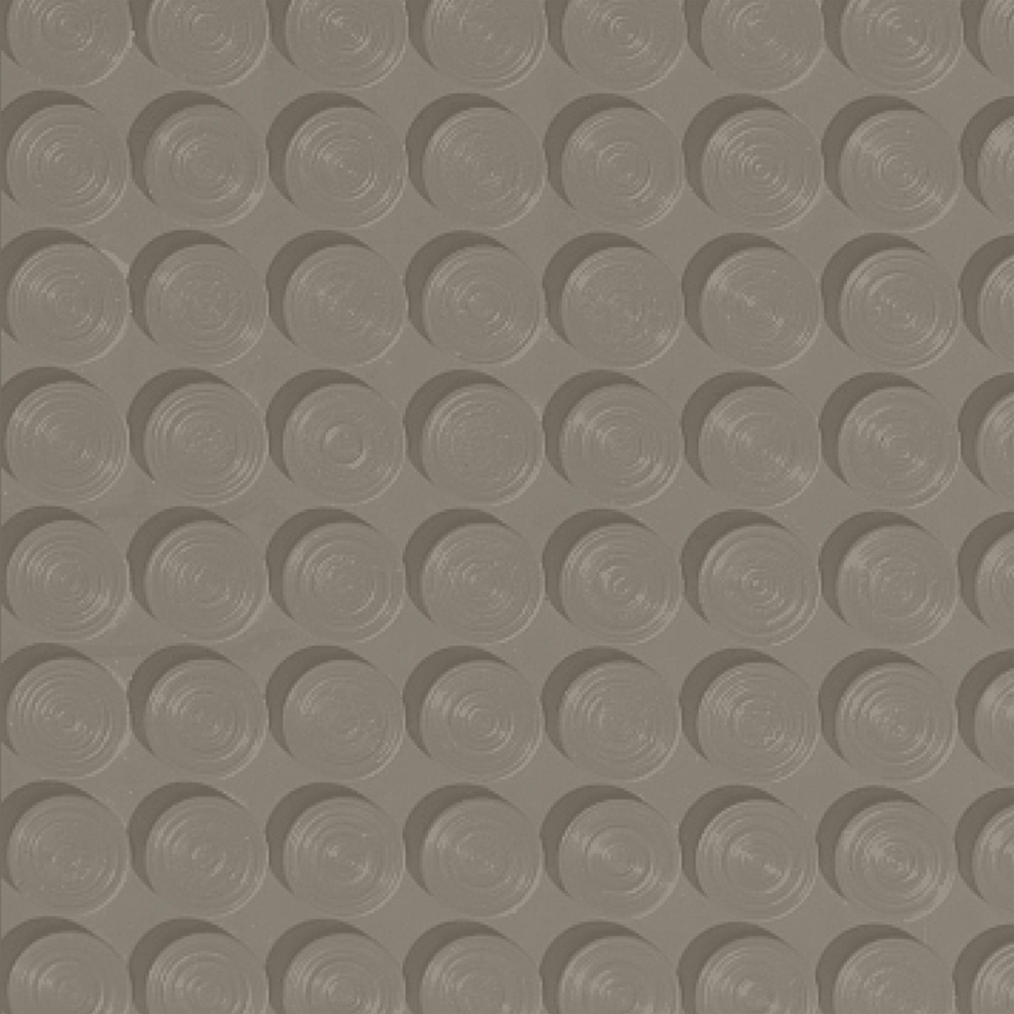 Roppe Rubber Tile 900 - Lug Back Vantage Design (LB996) Dolphin Rubber Flooring