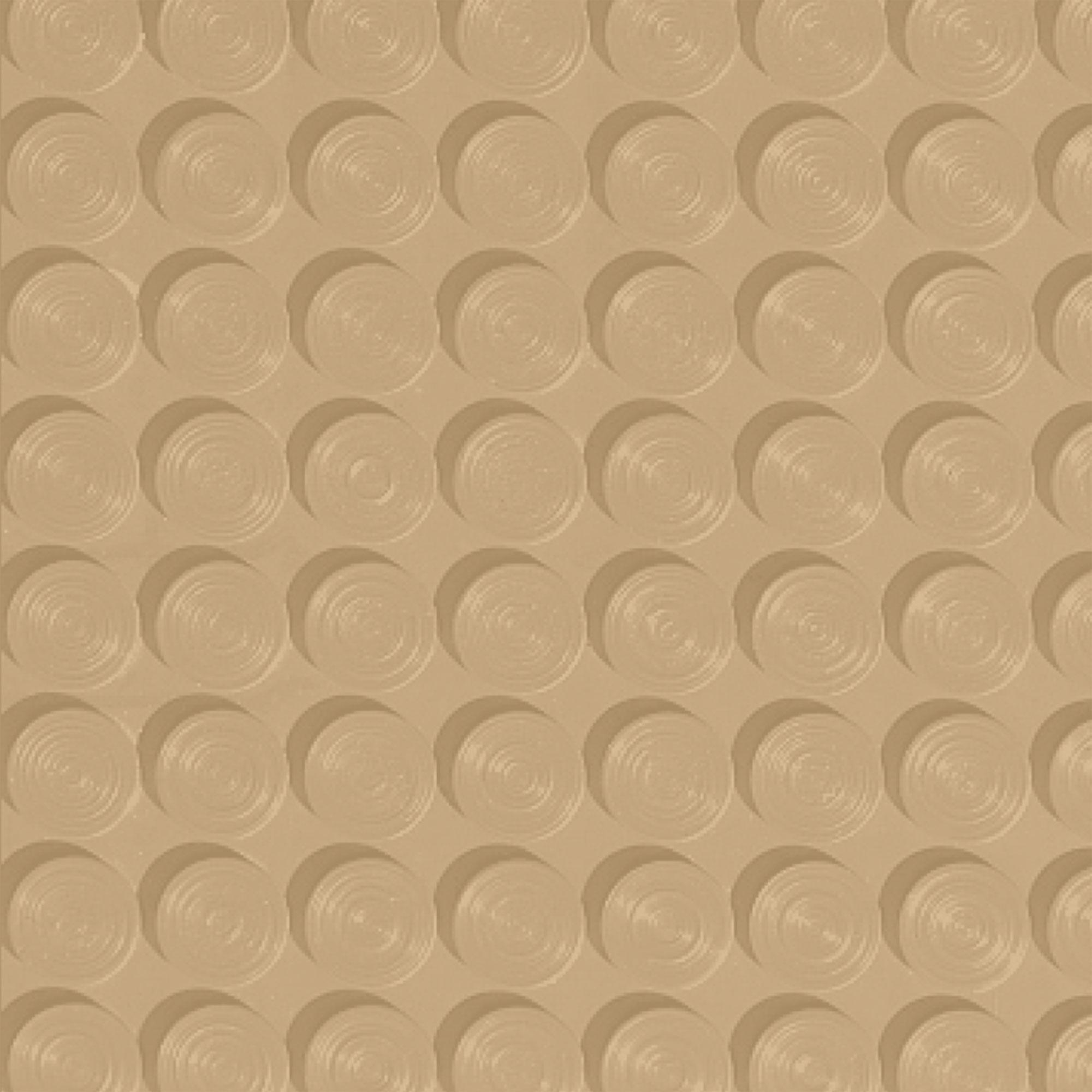 Roppe Rubber Tile 900 - Lug Back Vantage Design (LB996) Harvest Yellow Rubber Flooring