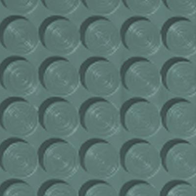 Roppe Rubber Tile 900 - Lug Back Vantage Design (LB996) Hunter Green Rubber Flooring