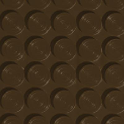 Roppe Rubber Tile 900 - Lug Back Vantage Design (LB996) Java Rubber Flooring