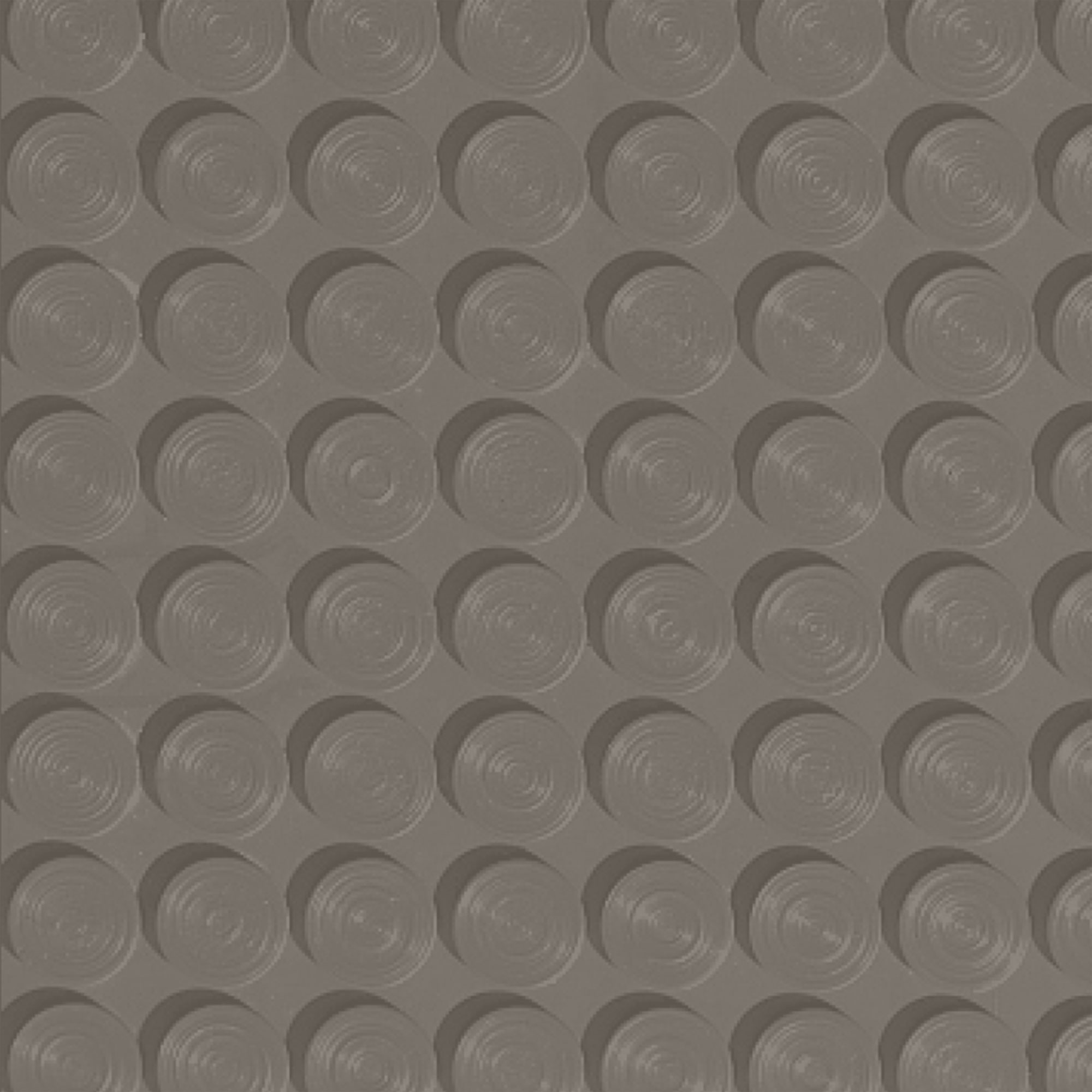 Roppe Rubber Tile 900 - Lug Back Vantage Design (LB996) Lunar Dust Rubber Flooring