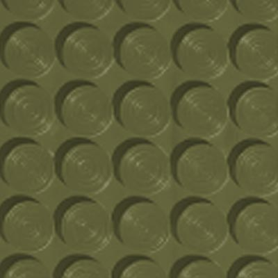 Roppe Rubber Tile 900 - Lug Back Vantage Design (LB996) Olive Rubber Flooring