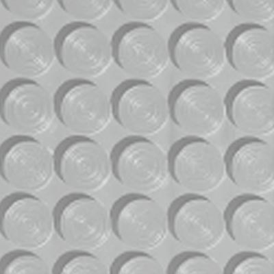 Roppe Rubber Tile 900 - Lug Back Vantage Design (LB996) Platinum Rubber Flooring