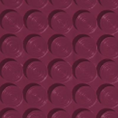 Roppe Rubber Tile 900 - Lug Back Vantage Design (LB996) Plum Rubber Flooring