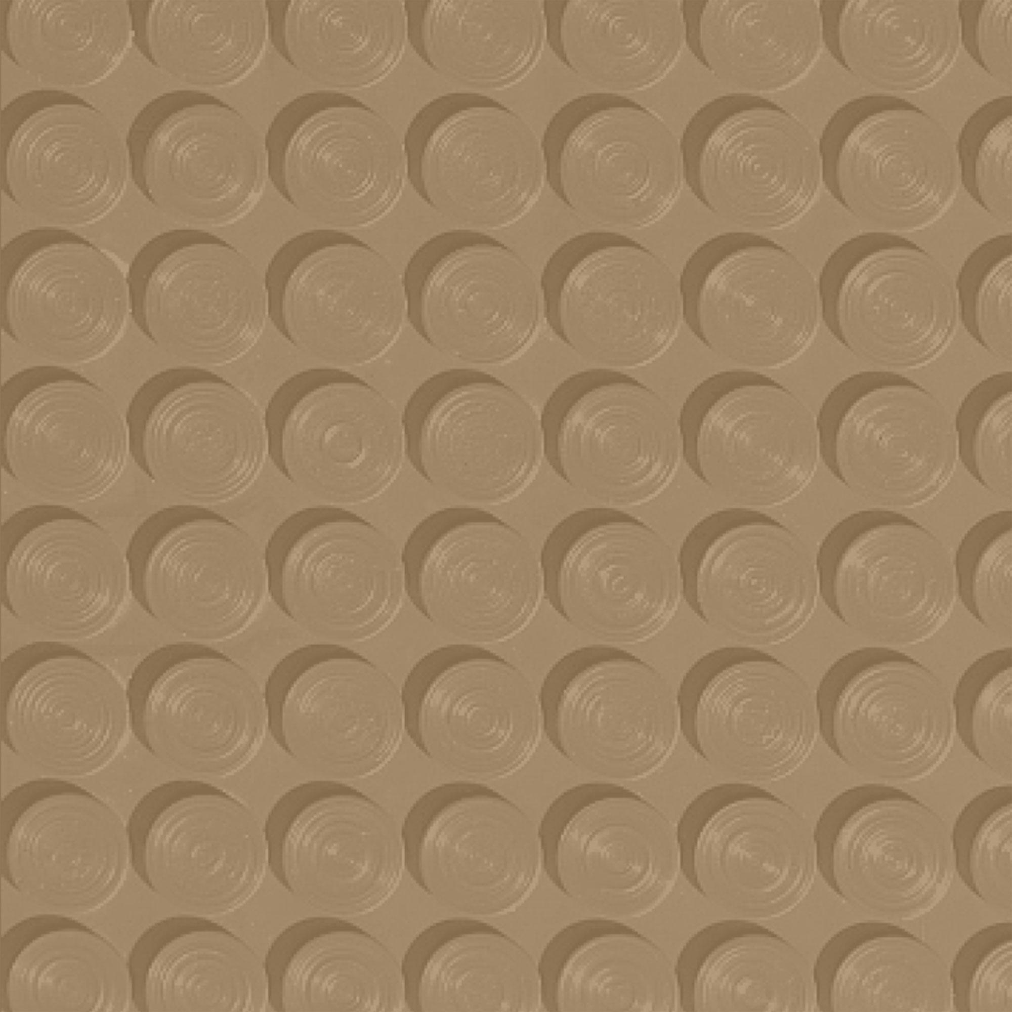 Roppe Rubber Tile 900 - Lug Back Vantage Design (LB996) Sahara Rubber Flooring