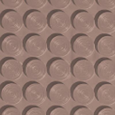 Roppe Rubber Tile 900 - Lug Back Vantage Design (LB996) Spice Rubber Flooring