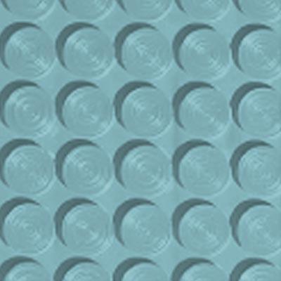 Roppe Rubber Tile 900 - Lug Back Vantage Design (LB996) Turquoise Rubber Flooring