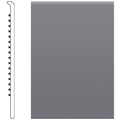 Roppe 700 Series Rubber No Toe Base 6 Steel Gray Rubber Flooring