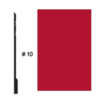 Roppe Pinnacle Plus Base #10 Red Rubber Flooring