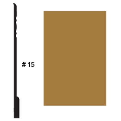 Roppe Pinnacle Plus Base #15 Brass Rubber Flooring