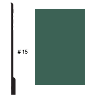 Roppe Pinnacle Plus Base #15 Forest Green Rubber Flooring