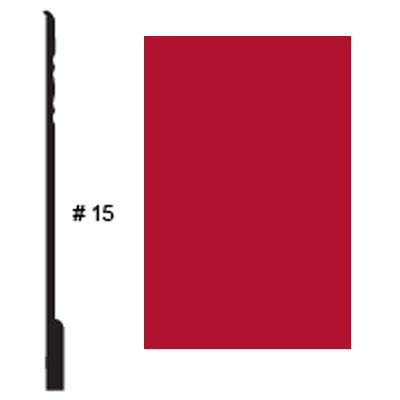 Roppe Pinnacle Plus Base #15 Red Rubber Flooring