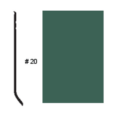 Roppe Pinnacle Plus Base #20 Forest Green Rubber Flooring