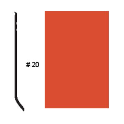 Roppe Pinnacle Plus Base #20 Mandarin Rubber Flooring