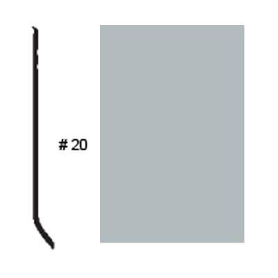 Roppe Pinnacle Plus Base #20 Platinum Rubber Flooring