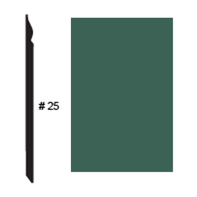 Roppe Pinnacle Plus Base #25 Forest Green Rubber Flooring