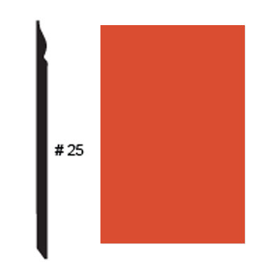 Roppe Pinnacle Plus Base #25 Mandarin Rubber Flooring