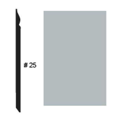 Roppe Pinnacle Plus Base #25 Platinum Rubber Flooring