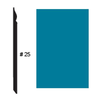 Roppe Pinnacle Plus Base #25 Tropical Blue Rubber Flooring
