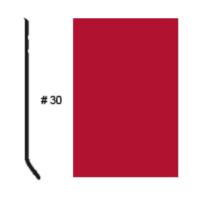Roppe Pinnacle Plus Base #30 Red Rubber Flooring